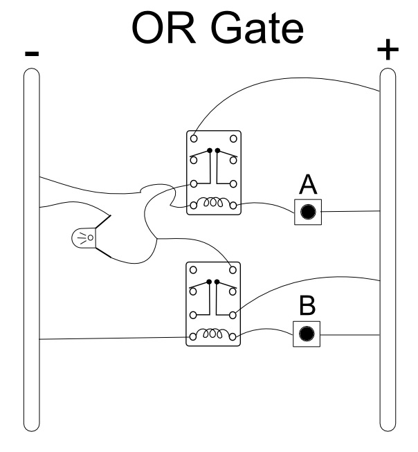 relay OR gate